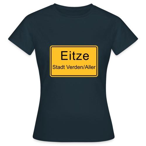 Ortsschild - Frauen T-Shirt