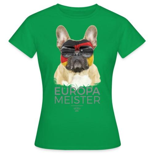 Europameister Deutschland - Frauen T-Shirt