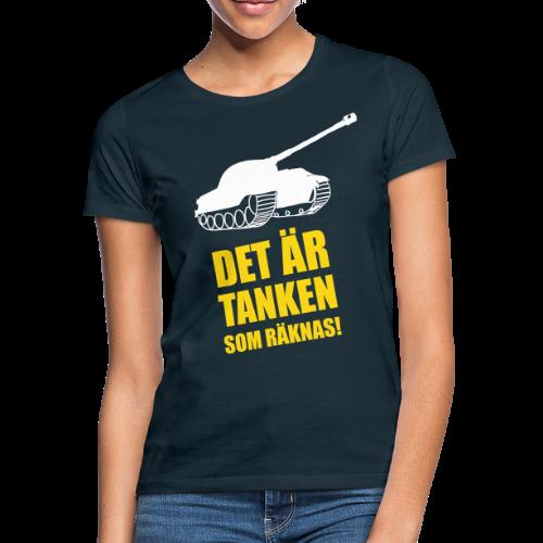 Det är Tanken som räknas - T-shirt dam