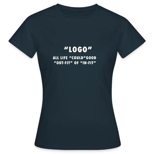 LOGO On WHITE - Maglietta da donna