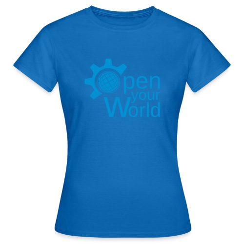 KDE - Open your world - Women's T-Shirt