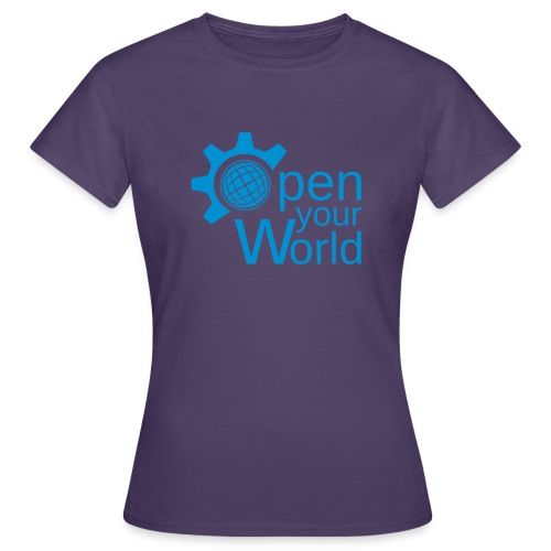 KDE - Open your world - Women's T-Shirt