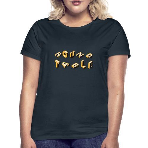 round table 2019 liegend - Frauen T-Shirt