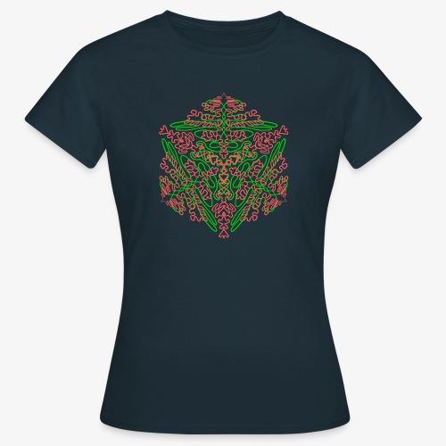 Neon Star - Mandala - Frauen T-Shirt