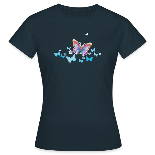 Schmetterlinge Falter Insekten Frühling Sommer - Women's T-Shirt