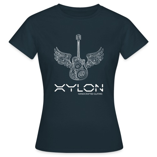 Xylon Guitars Premium T-shirt (white design) - Women's T-Shirt