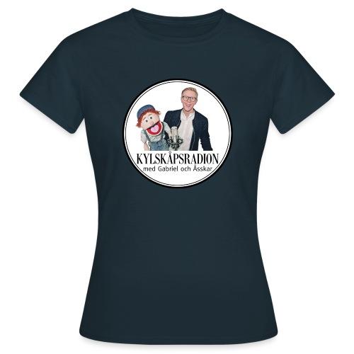 Kylskåpsradions logga - T-shirt dam