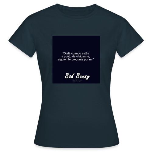 bad bunny - Camiseta mujer