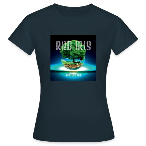 Red Iris - Leben und Sein - Frauen T-Shirt