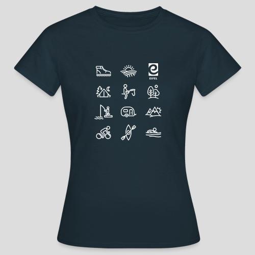 Eifel - Freizeit - weiß - Frauen T-Shirt