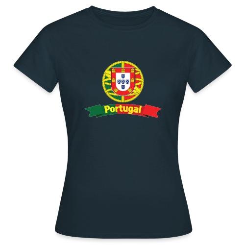 Portugal Campeão Europeu Camisolas de Futebol - Women's T-Shirt