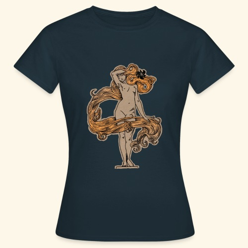 FLORA NEGRA (LANDFALL) COLOUR - Frauen T-Shirt