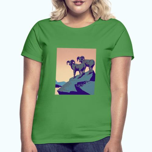 Vintage Capricorn Travel Poster - Women's T-Shirt
