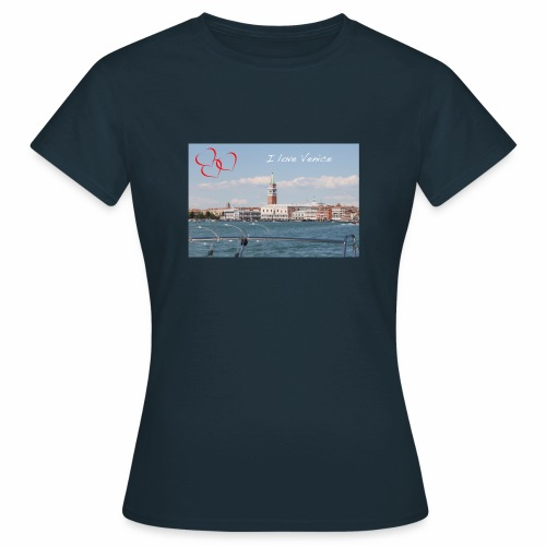 I love Venice - Frauen T-Shirt