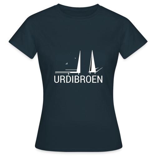 URDIBROENKC29e - T-skjorte for kvinner