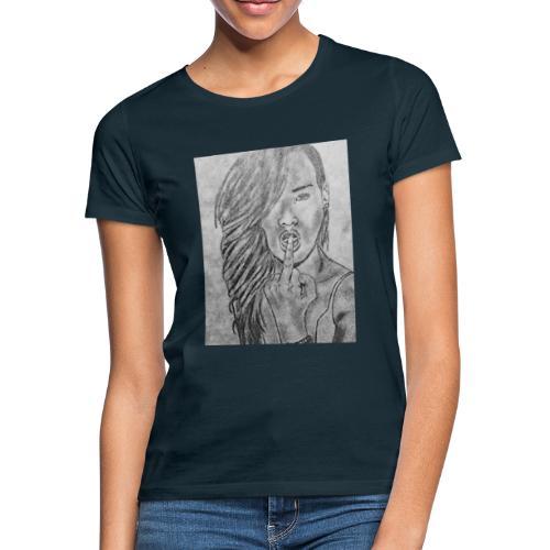 Jyrks_kunstdesign - Dame-T-shirt