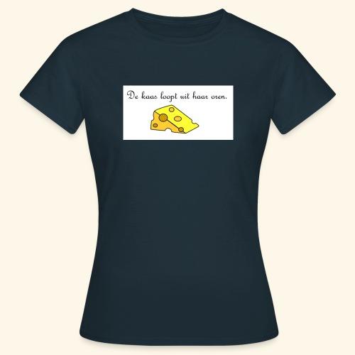 Kaas loopt uit haar oren - Temptation - Vrouwen T-shirt