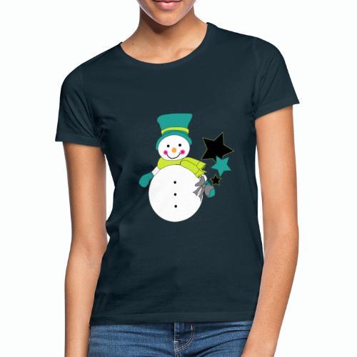 Snowtime-Green - Frauen T-Shirt