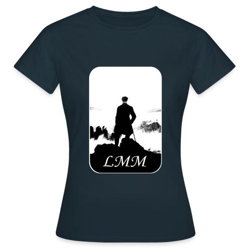 Logo LMM white png - T-shirt Femme