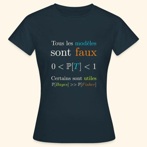 Tous Les Modèles Sont Faux - T-shirt Femme