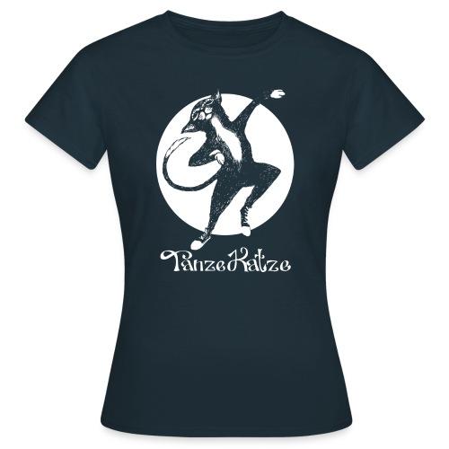 TanzeKatze - Frauen T-Shirt