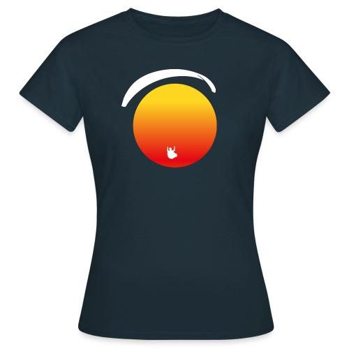 Paragleiter im Sonnenuntergang - Frauen T-Shirt