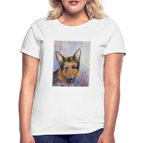 german shepherd wc - Dame-T-shirt