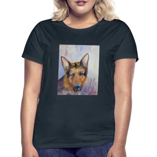german shepherd wc - Dame-T-shirt