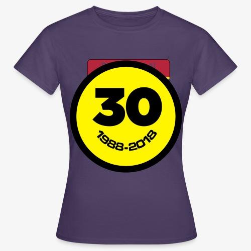 30 Jaar Belgian New Beat Smiley - Vrouwen T-shirt