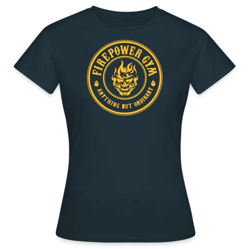 Firepower Gym Logo - Women's T-Shirt