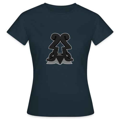 2j_3D - Dame-T-shirt