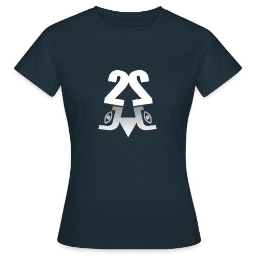 2J Logo - Dame-T-shirt