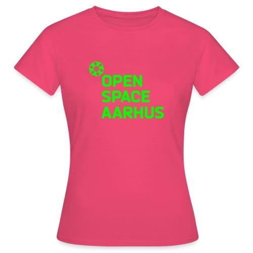 osaa logo neon rgb - Dame-T-shirt