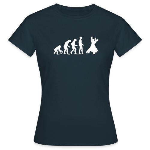 Evolution - Tanzen - weiß - Frauen T-Shirt