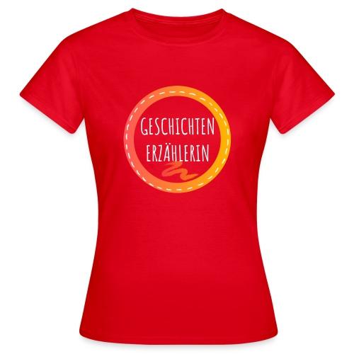 GESCHICHTENERZA HLERIN white - Frauen T-Shirt