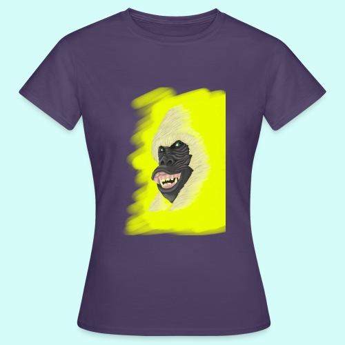 Gorille heureux - T-shirt Femme
