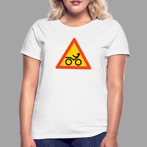 Traffic sign Recumbent - Naisten t-paita