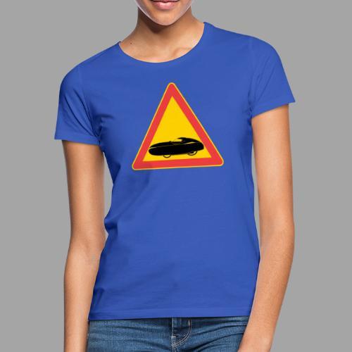 Traffic sign velomobile - Naisten t-paita