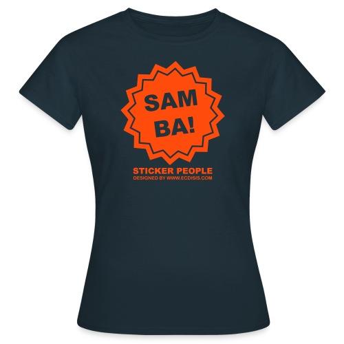 stickersamba - Camiseta mujer