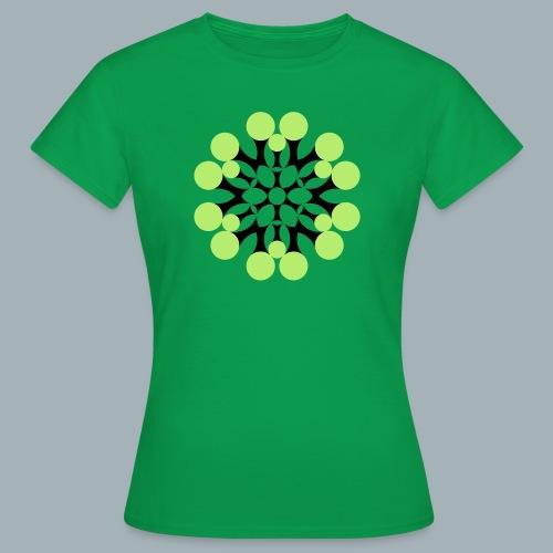 Floral Shirt Long Sleeved - Vrouwen T-shirt