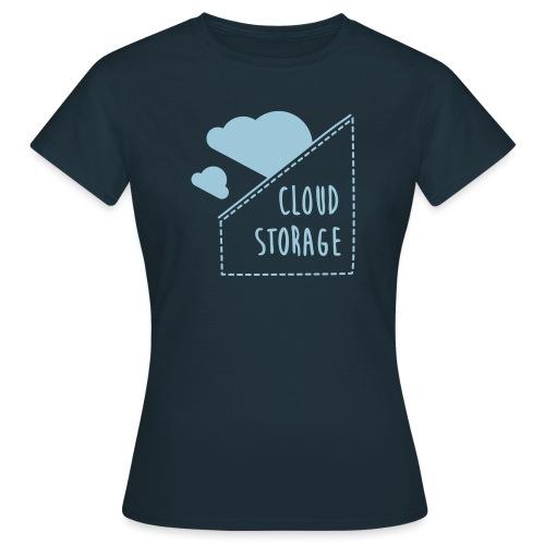 Cloud Storage - Frauen T-Shirt
