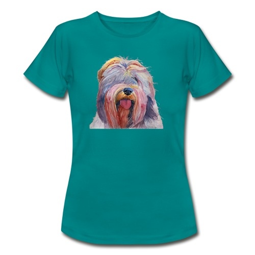 schapendoes - Dame-T-shirt