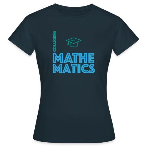 Colligere Math - T-skjorte for kvinner