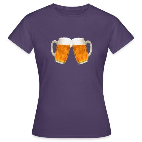 Zwei Bier - Frauen T-Shirt