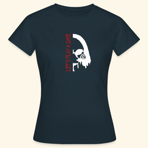 Let's play a game - T-shirt Femme