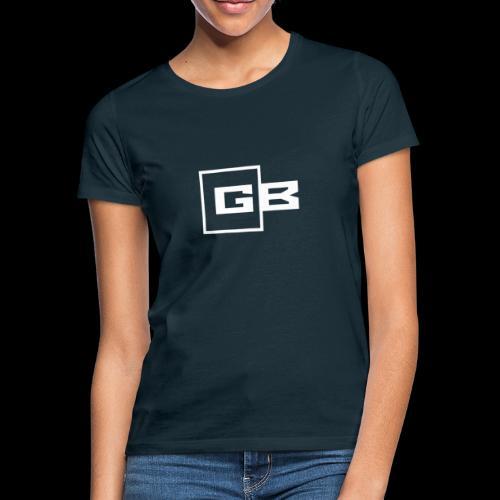 Valkoinen Gymbox logo - Naisten t-paita