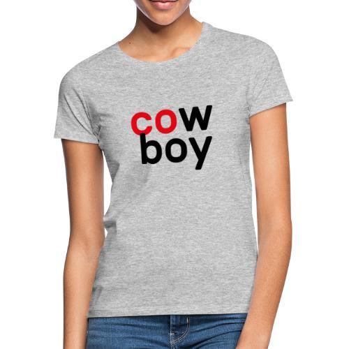 CowBoy - T-shirt Femme
