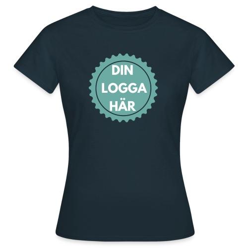 Egen Logga - T-shirt dam