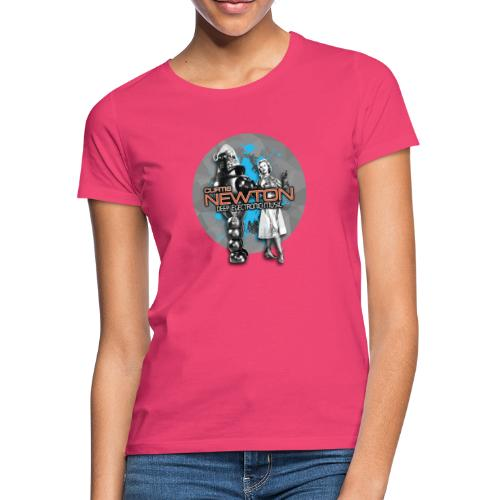 CURTIS NEWTON - DEEP ELECTRONIC MUSIC - Frauen T-Shirt