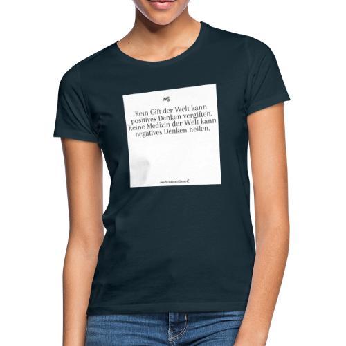 Positiv - Frauen T-Shirt